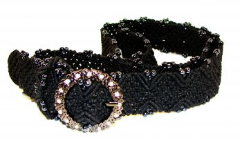 "Belt ""Arctic Night"" - color is Black"