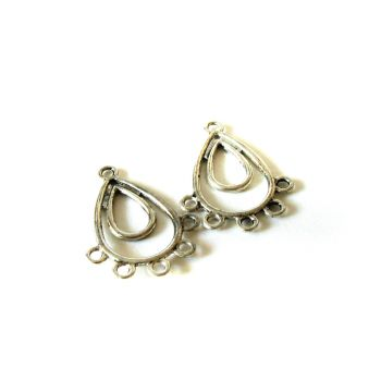 Fashion earring/pendant parts